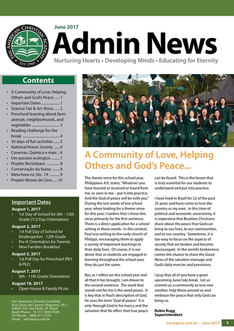 School Newsletter June 2017